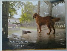 "NEW! JACK DANIEL'S 2014 ""WET PLACES IN A DRY COUNTY"" TENNESSEE SQUIRE CALENDAR"