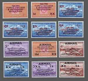 Tonga Sc. #146-151  + Nos.C16-21. MNH 2 Complete Sets Centenary TUPOU COLLEGE