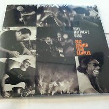 Dave Matthews Band CD 2012 Summer Tour Sampler   5 songs Brand new
