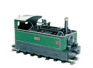 "PECO 009 gauge scenic, Layout , track Item No: GL 6 Tram locomotive ""Dennis""."