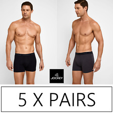 5 x MENS JOCKEY NO RIDE UP TRUNKS Trunks Underwear Jocks