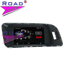 Quad Core Android Car PC GPS Stereo SAT Navigation For Audi Q5 A4 A5 AUX WIFI SD