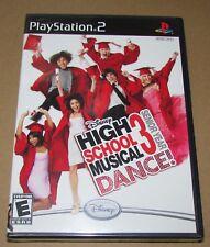 High School Musical 3: Senior Year Dance (Sony PlayStation 2) Brand New