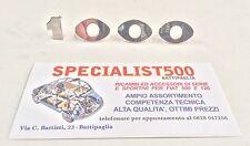 SCRITTA A PEZZI SINGOLI PER ABARTH OT 1000 FIAT 600 - 850