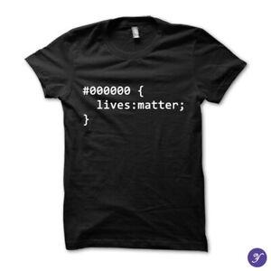 Black Lives Matter Tee - coding tshirts, code, html, web developer