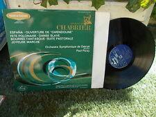 CHABRIER: Aspana Bourrée March etc... > Detroit Paray /Mercury DSY France stereo