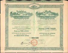 CHEMINS de FER ORIENTAUX (ISTANBUL TURQUIE) (J)