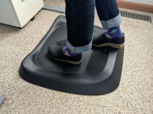 Ergodriven Topo Comfort Mat Not-Flat Standing Desk Anti-Fatigue Office
