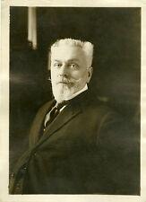 """""""Décès de Victor BERARD Sénateur du Jura 1931"""" Photo originale G. DEVRED / ROL"""