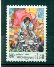 """Nations Unies Géneve 1986 - Michel n. 137 - """"L'Afrique en crise """""""
