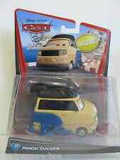Disney PIXAR Cars 2 - #7 PINION TANAKA - Deluxe Vehicle - Ages 3 & up