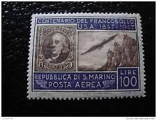 SAINT-MARIN - timbre - yvert et tellier aerien n°66 n** - stamp san-marino
