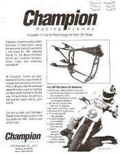 1991 Champion, Knight frames Kosman, Bird catalogs 46pg