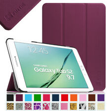 For Samsung Galaxy Tab S2 9.7 Case Slim Shell Stand Cover with Auto Sleep/Wake
