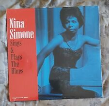 NINA SIMONE-SINGS & PLAYS THE BLUES-NEW-180gm RE-ISSUE ON NOT NOW RECORDS-2018