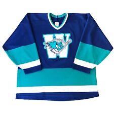 Vintage WORCESTER IceCats Jersey CCM sz XL Rare AHL Hockey Jersey