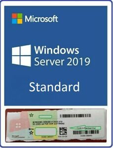 New Windows Server 2019 Standard Key COA