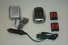 2 Rechargeable Photo Lithium CR-P2 (223A)  Batteries/Charger