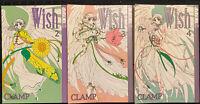 Wish Manga 2, 3, 4 Shojo Tokyopop Romance Clamp Fantasy OOP