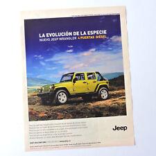 JEEP Wrangler / Advert Reklame Publicidad Pubblicita Publicite Print Ad 4x4 4WD
