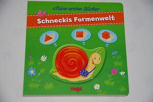 Schneckis Formenwelt Meine ersten Bücher von Haba ab 18 Monaten