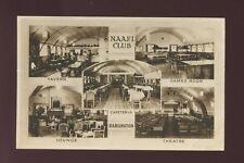 Durham DARLINGTON NAAFI Club M/view PPC 1945 Photochrom faults