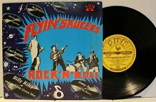 Rare Rockabilly 10-inch LP - V/A - Flyin' Saucers Rock 'n' Roll - France Import