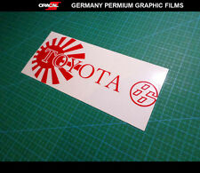Toyota 86 / GT86 AE86 JDM logo Drift Japan Car Vinyl Decal Sticker #02