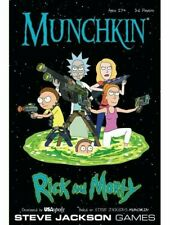 Munchkin Rick And Morty Card Game Steve Jackson Games