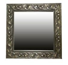 Espejo de Marco Pared Verona Oro Antiguo 48x48 cm Kristall-Form Dekorspiegel