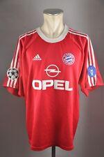 FC Bayern München Trikot 2001 #2 Sagnol CL Sieger Gr. XXL Adidas Opel Sieger