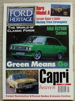 FORD HERITAGE Car Magazine Winter 1995 ISSUE 12  Mk II RS2000 CUSTOM   Mustang