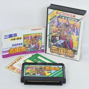 SANGOKUSHI CHUGEN NO HASHA No Book Famicom Nintendo 0126 fc