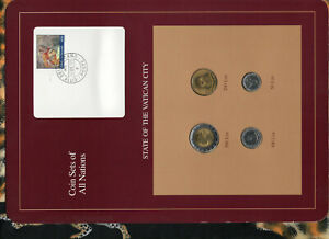 Coin Sets of All Nations Vatican 1990 UNC 14GEN1992 ERROR 500 Lire Italy coin