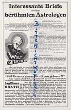 Paris, publicité 1928, ramah Folio 2 a, rue de Lisbonne 44 paris astrologie
