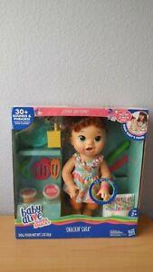 Baby Alive Super Snacks Snackin' Sara Doll Brunette New and Sealed
