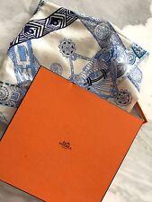 "HERMES ANNIE FAIVRE cashmere and silk scarf shawl -  55"" x 55"""