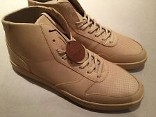 CLAE GREGORY MID LATTE LEATHER MENS 11 SNEAKERS TRAINERS Aj1 Retro Hi dress