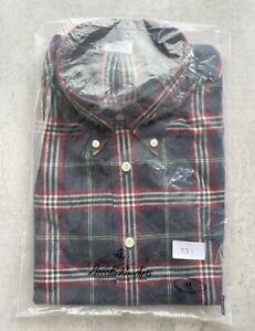 Brooks Brothers Regent Multicoloured Check Shirt Size M No 551