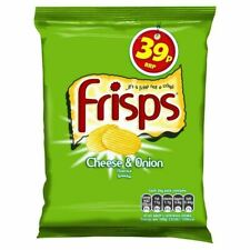 Frisps Cheese And Onion Flavour Snacks 34g 30 Pack