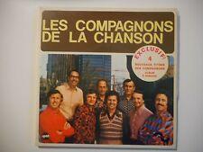LES COMPAGNONS DE LA CHANSON : LE VENT D'UN NOUVEAU x2 ♦ 45 TOURS PORT GRATUIT ♦