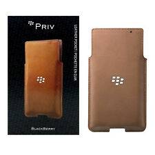 BlackBerry Leather Pocket Pouch with Card Slot for BlackBerry Priv - Lot Of 10