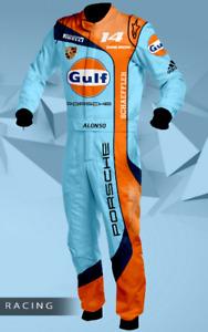 F1 Gulf Porsche Racing Printed Suit