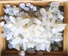 Tumbled Gemstone Crystal White Moonstone Chip Stone 5g Small to Medium