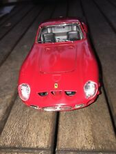 Ferrari 250 GTO (1962) Diecast Model, Scale 1:24 in Red by BBurago Made in Italy
