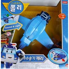 Robocar Poli Carry Transport Plane Cargo Robot Figure Transformer Diecast Toy