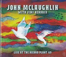 JOHN McLAUGHLIN w/ JIMI HENDRIX - Live at the Record Plant '69 (Sealed digipack)