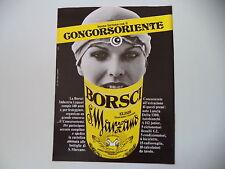 advertising Pubblicità 1980 AMARO BORSCI S. MARZANO