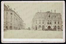 Cabinet Photo INTERLAKEN phot. R.LEUTHOLD Switzerland Suisse RARE (6793)