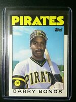 1986 TOPPS TRADED 11T BARRY BONDS RC ROOKIE CARD